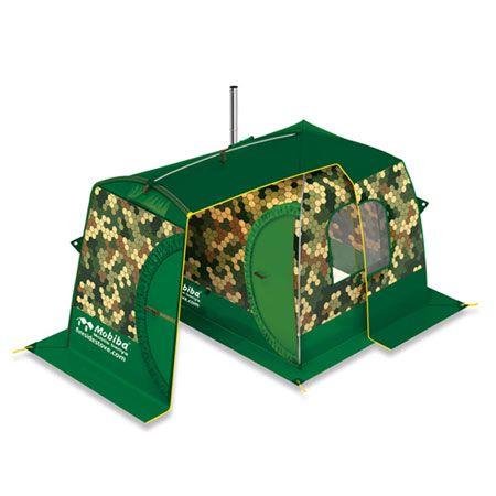 『モビバ』バックパックサウナ RB170M用前室付き囲いテント