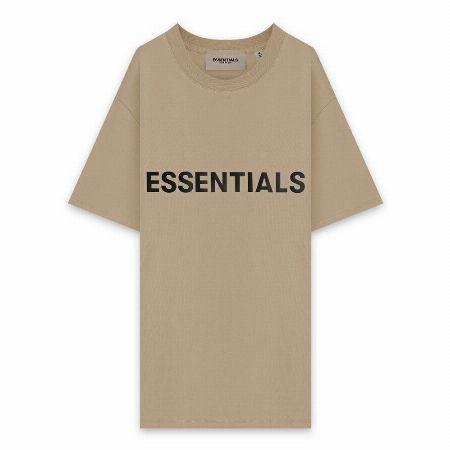 『エフオージー エッセンシャルズ』3Dシリコンアップリケ ボクシーTシャツ