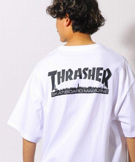 『スラッシャー』×『フリークス ストア』別注ビッグシルエット バックプリントTシャツ