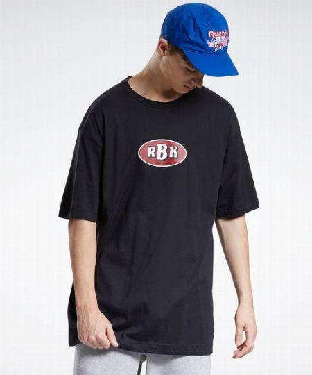 『リーボック』×『ブラックアイパッチ』グラフィック Tシャツ