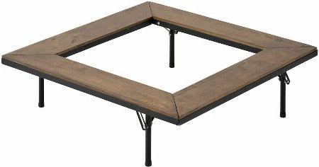 『ロゴス』アイアンウッド囲炉裏テーブル