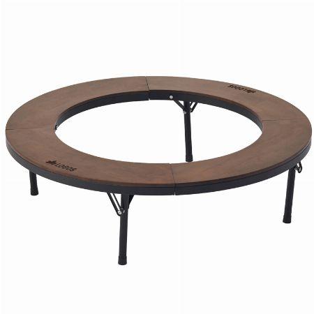 『ロゴス』アイアンウッド囲炉裏サークルテーブル