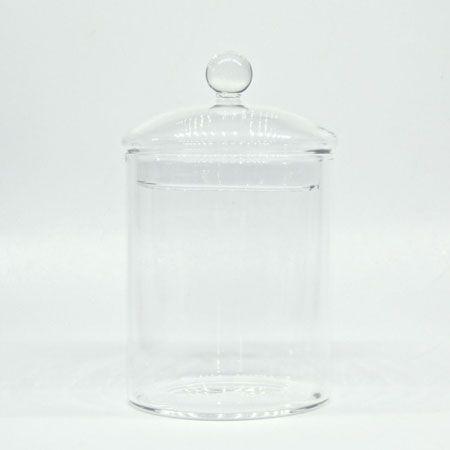 口が広めのガラス容器
