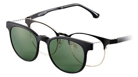 愛用中の度入りメガネがそのまま流用可能