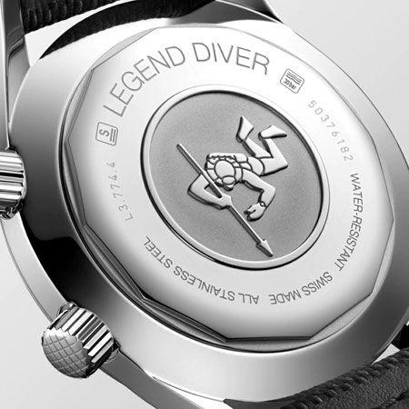 1960年代ダイバーズの名品。ダイバーズウォッチの普及に貢献した「ロンジン レジェンドダイバー」 2枚目の画像