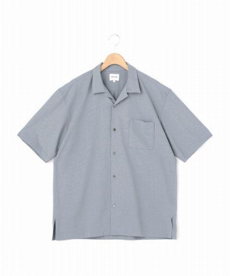 『モリスアンドサンズ』フレスカ オープンカラーシャツ
