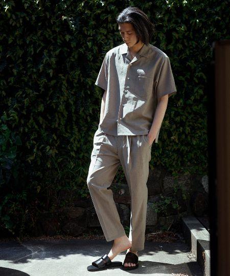 『アダム エ ロペ』リランチェ オープンカラーシャツ&イージーパンツ セットアップ