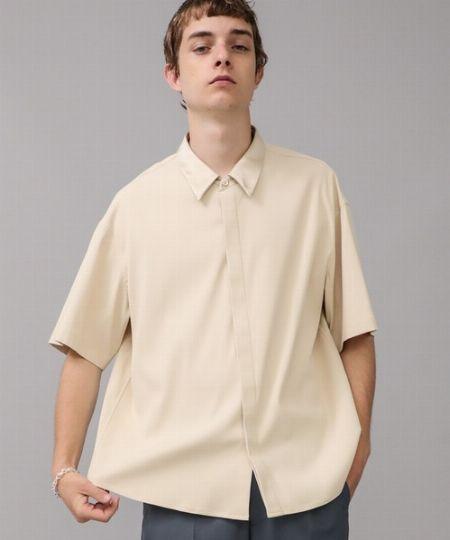 『シティ』シルクカラー クレリックシャツ