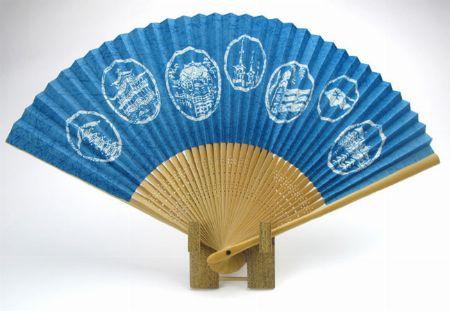 『京扇堂』紳士用 夏扇 白竹/2,530円(税込)