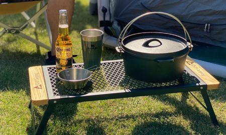 焚き火テーブルの導入で、いつもの焚き火がもっと有意義に