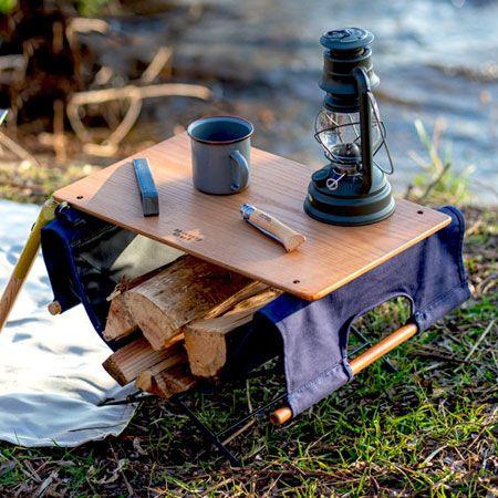 持ち運びしやすいか、物を置けるか、が焚き火テーブル選びの重要ポイント