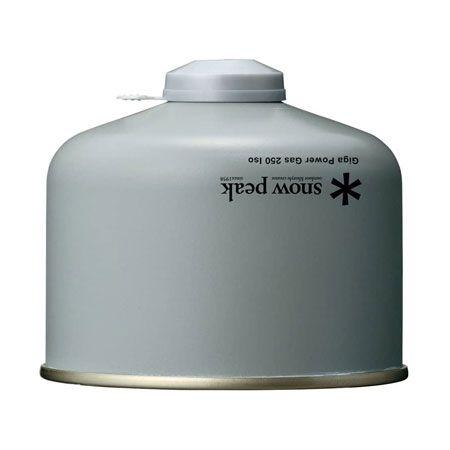 「ガス缶」は、季節(気温)に合わせて使い分けましょう