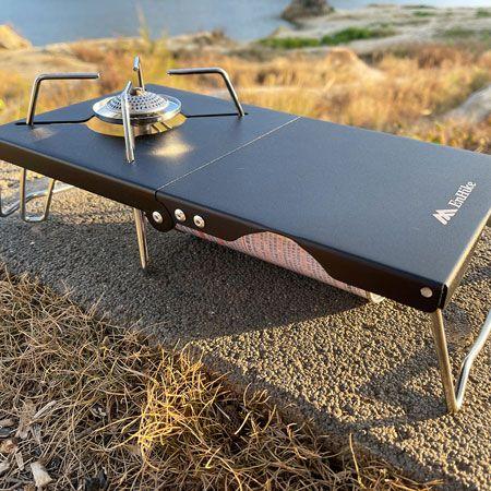 テーブルの上では輻射熱対策をしっかり