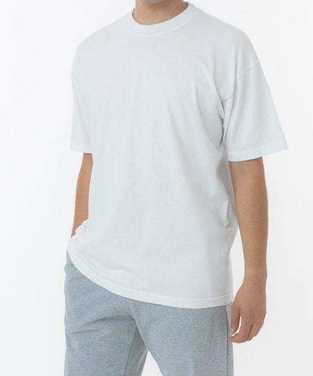 『ロサンゼルスアパレル』6.5オンス ガーメントダイ クルーネック Tシャツ / 1801GD/1,760円(税込)
