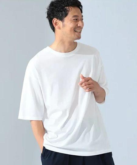 『ビーミング by ビームス』インナー クルーネックTシャツ(ドロップフィット)/1,650円(税込)