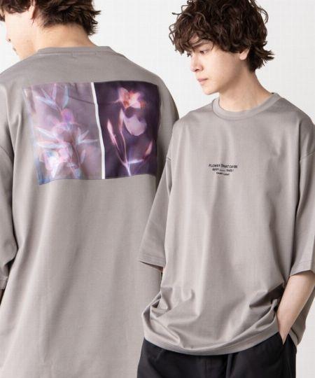 『ウィゴー』グラフィックアートビッグシルエット5分袖Tシャツ/1,999円(税込)