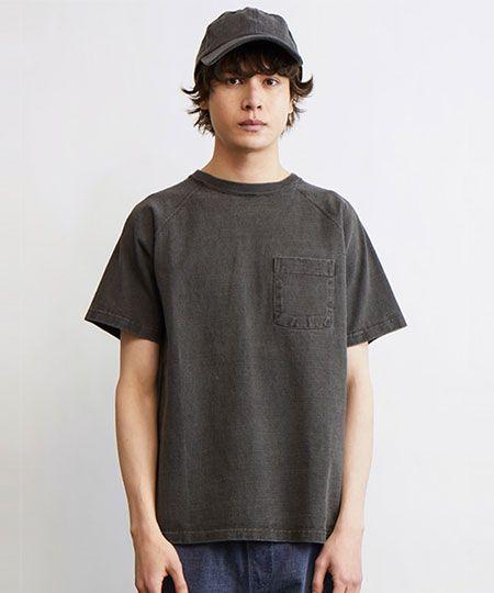 『グッドオン』ヘビーウェイト ラグラン ポケット付Tシャツ