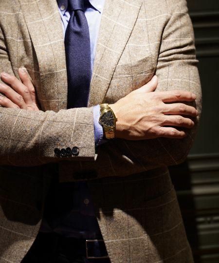 成金趣味……なんて昔の話。ゴールド時計を取り入れてワンランク上の大人に 2枚目の画像