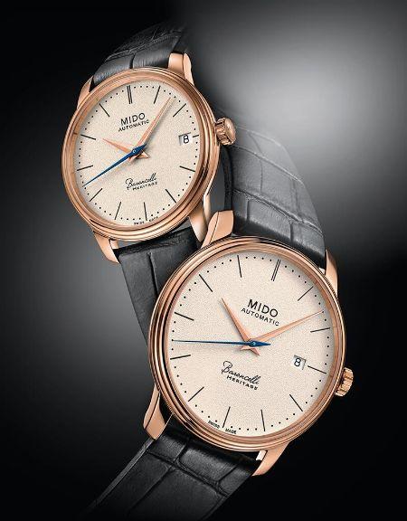 ▼コレクション2:時計にクラシックを求めるなら、「バロンチェッリ」が適任