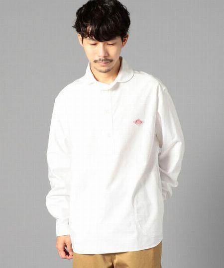 『ダントン』丸えりオックスシャツ
