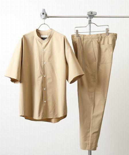 『ジャーナル スタンダード』ソロテックス 2 イン セット シャツ+パンツのセットアップ
