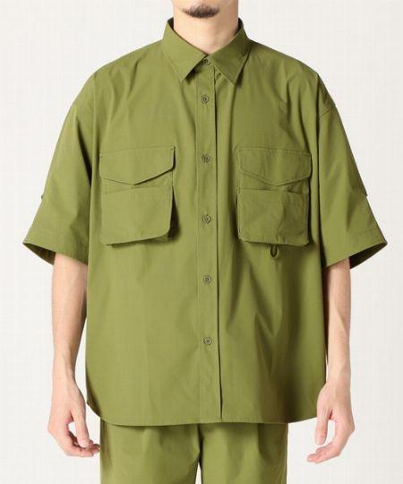 『ジャーナル スタンダード レリューム』シェルテック オーバーサイズ 半袖シャツ