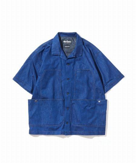 『ワイルドシングス』ストレッチ ビッグポケットシャツ