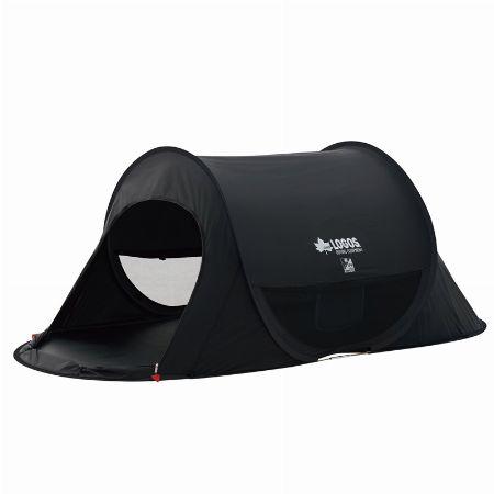 『ロゴス』ブラック UV ポップフルシェルター