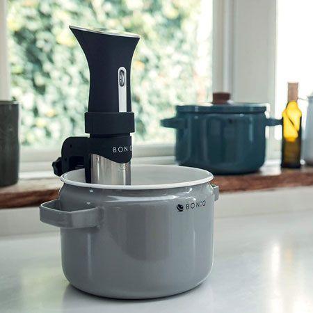 『ボニーク』をセットしてお湯を設定温度まで温める