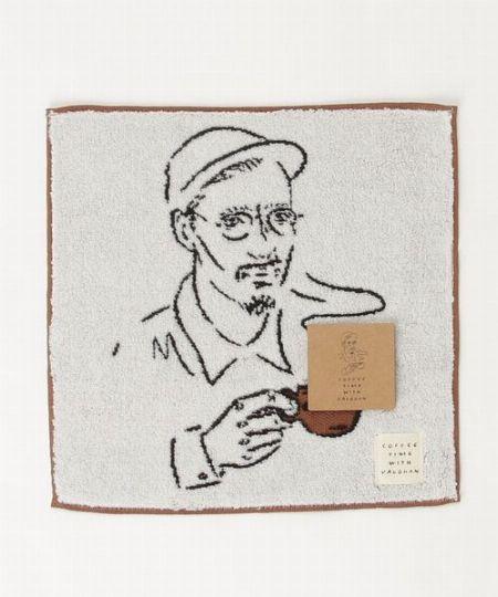 『コーヒータイムウィズヴォーン』タオルハンカチ