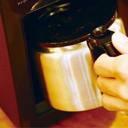 コーヒーを多めに作って複数回楽しみたい人は「ステンレスサーバー」を