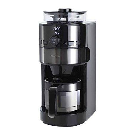 すっきりとした味わいのコーヒーがお好みなら「コーン式全自動コーヒーメーカー SC-C121」