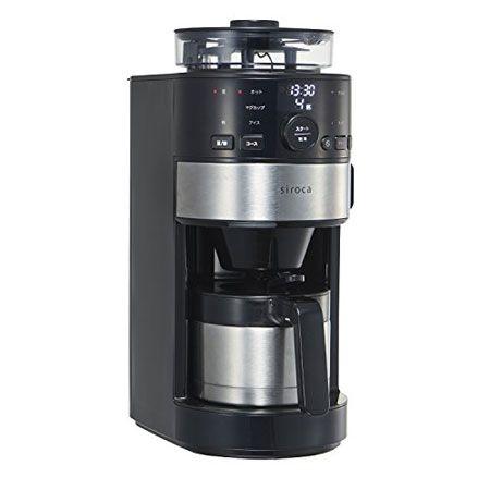 ペーパー要らずのエコな「コーン式全自動コーヒーメーカー SC-C122」