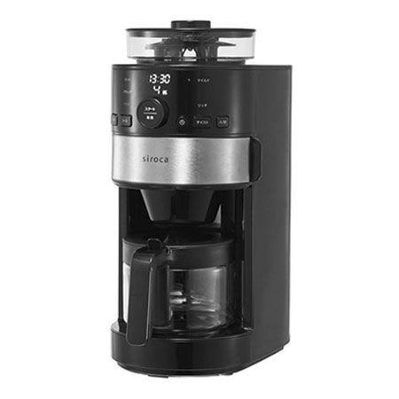 ペーパーフィルター式でお手入れが簡単な「コーン式全自動コーヒーメーカー SC-C111」