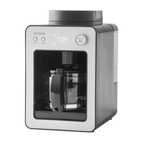 おしゃれな見た目とは裏腹に手入れが楽ちんな「全自動コーヒーメーカー カフェばこ SC-A351」