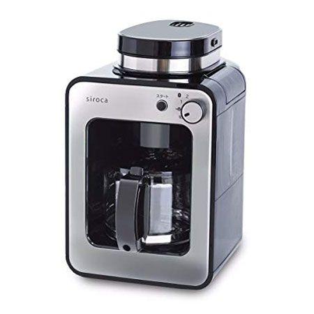 シンプルな操作で使いやすい「全自動コーヒーメーカー カフェばこ SC-A211」