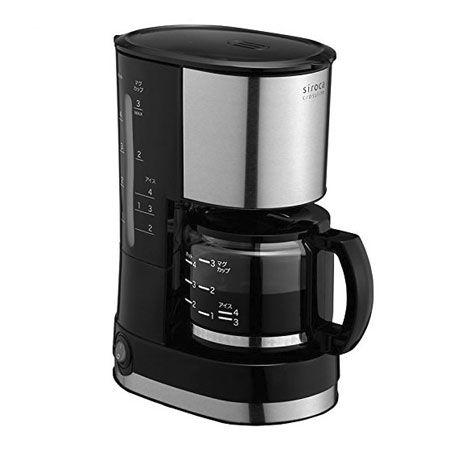 手軽にコーヒーが楽しめる「ドリップ式コーヒーメーカー SCM-401」