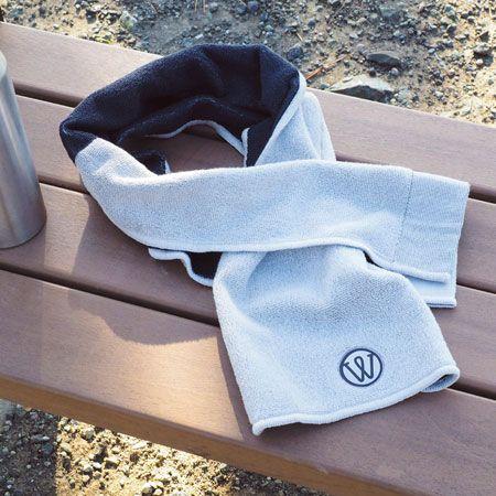 運動時に汗をかいたらこまめ拭いてリセット。スポーツタオルがあれば安心です