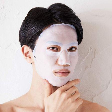 週1回のご褒美。男も顔パックできれいな肌を叶える時代