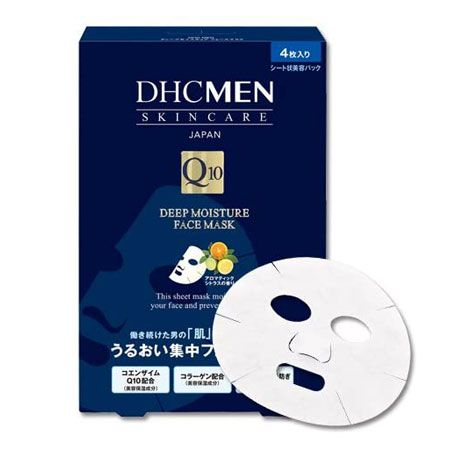 『ディーエイチシー メン』ディープモイスチュア フェースマスク