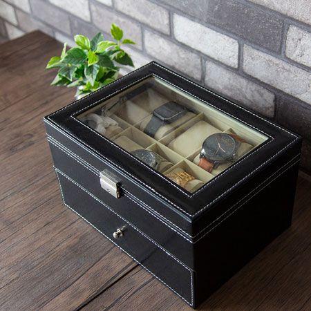 ▼ケース1:ほこりも被らずまとめて収納。「コレクションケース」は基本のき