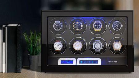 ▼ケース4:機械式時計の良き友。「ワインディングマシーン」は一度試すべき