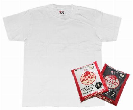 『レッドキャップ』シングルジャージー2パッククルーネックT/価格帯 2,484円(税込)