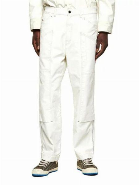 『ディーゼル』メンズ ストレート ホワイト カラーデニム