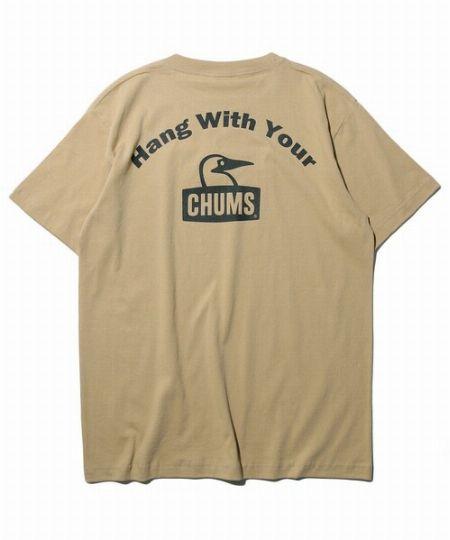 『チャムス』フリークスストア別注 アーチロゴ バックプリントTシャツ