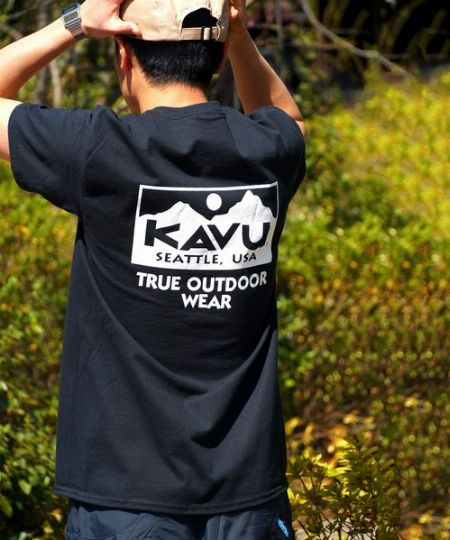 『カブー』トゥルーロゴTシャツ