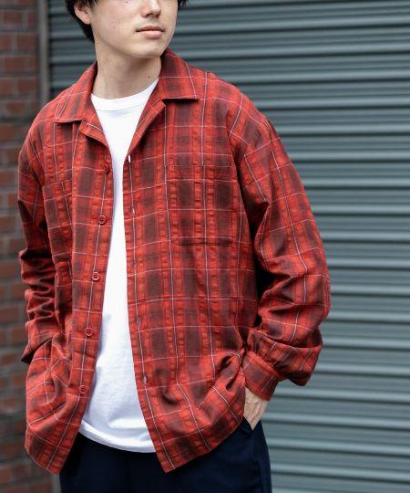 『ローター』ブロックチェックシャツ