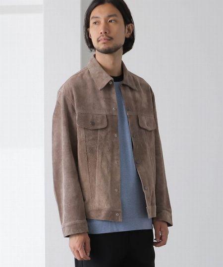 大人っぽさと温かみを両立。スエードジャケットが着こなしを拡充 2枚目の画像