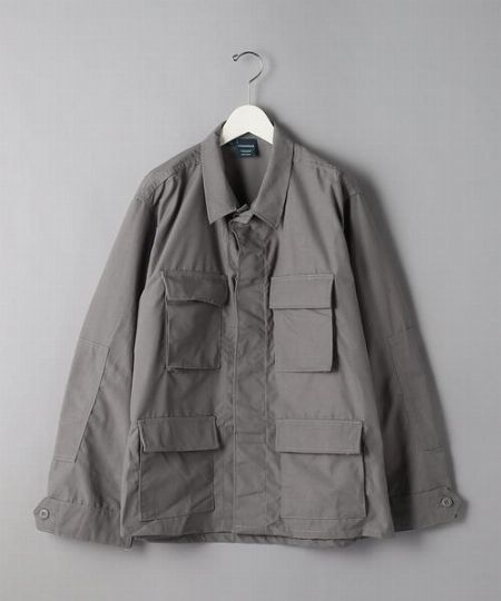 『ビームスライツ』エクストラウーブン M-65 ミリタリーシャツジャケット