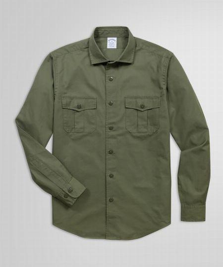 『ジョンブル』ミリタリーシャツジャケット